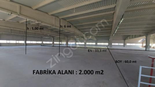 TEKSTİL FABRİKALARI İÇİN 2.000 m2 İKİNCİ KAT FABRİKA - Kapalı Otopark