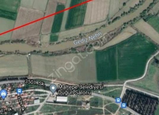 ULUÇAY EMLAK'TAN SATILIK MALTEPEDE  412 M2 MANZARALI ARSA - Harita