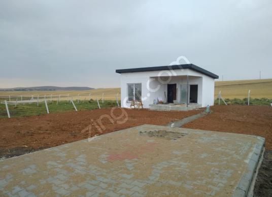 CB Vizyon'dan Beynam'da Elektrik Ve Suyu Olan Bahçe Evi - Dış Cephe