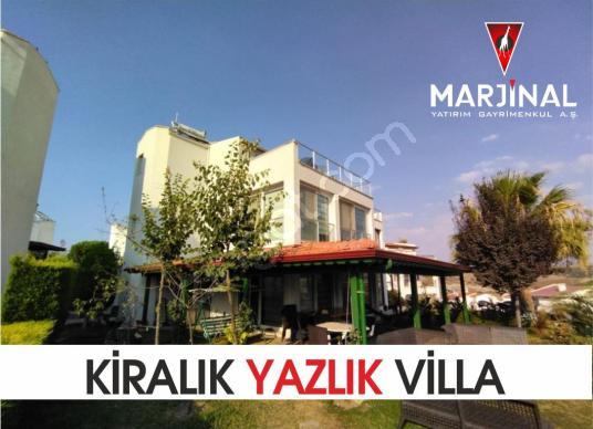350 square meters 4+1 bedrooms Villa For Rent in Seferihisar, İzmir - Dış Cephe