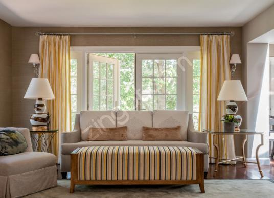 Levent Harika Konum 6+1 Eşyalı/Eşyasız Lüks Kiralık Villa - Yatak Odası