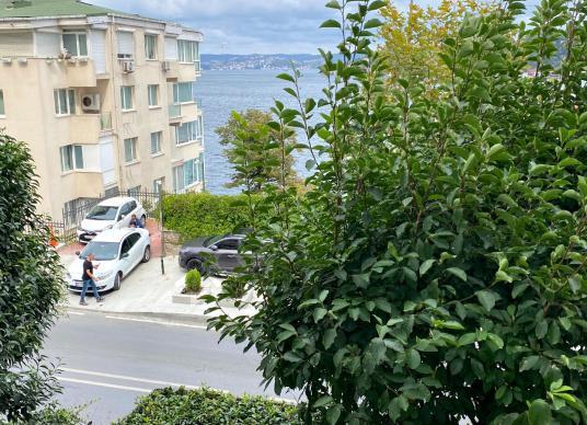Hisar'da, Deniz Manzaralı, 3+1 Ferah Yol Yalısı - Sokak Cadde Görünümü