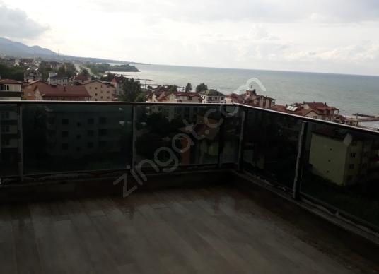 FATSA DOLUNAY'da 4+1 160m² DENİZ MANZARALI SATILIK DAİRE - Balkon - Teras