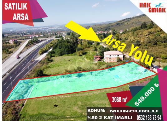 Panoramik Manzara (Hak Emlak) Satılık 3088 Arsa - Arsa