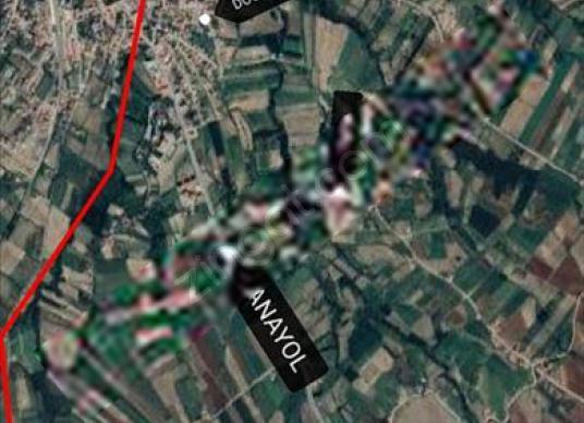 MALATYA DOĞANŞEHİRDE 3872m BAĞ,BAHÇELİK TARLA - Harita