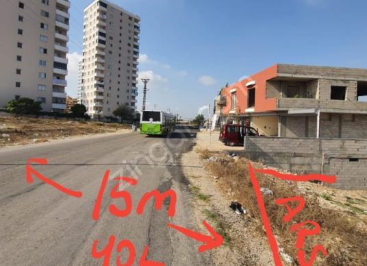 587 square meters Residential + Commercial For Sale in Sarıçam, Adana - Sokak Cadde Görünümü
