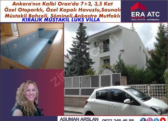 480 square meters 7+2 bedrooms Villa For Rent in Çankaya, Ankara - Dış Cephe