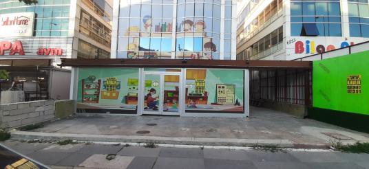 Cadde Üzerinde Komple Satılık Bina Turyap tan - Sokak Cadde Görünümü