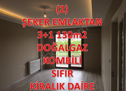 2-ŞEKER EMLAKTAN 3+1 130m2  KİRALIK SIFIR DAİRE - Logo