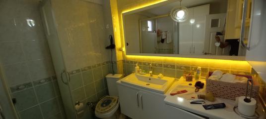 SİTE İÇİNDE 3+1 TEMIZ LÜX FULL EŞYALI KİRALIK DAİRE ULASIMA YAKI - Tuvalet