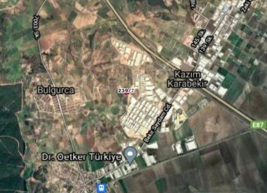 CB TREND'DEN MENDERES BULGURCA'DA YATIRIMLIK ARSA - Harita