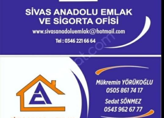 SİVAS ANADOLU EMLAK'TAN KARŞIYAKA DA SATILIK 400 M HOBİ BAHÇESİ - Logo