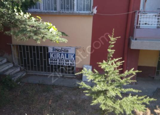 NOKTA EMLAK'TAN ESENTEPE MAH.KİRALIK 3+1 SOBALI BODRUM KAT DAİRE - Bahçe