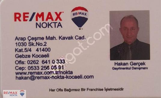 Gebze Balçık'ta Parsellerde 615 m2 Ticari İmarlı Arsa - Logo
