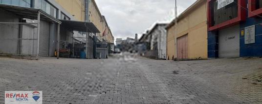 istanbul tuzla Tepeören Kiralık 400m2 Atölye Dükkan Fabrika depo - Sokak Cadde Görünümü