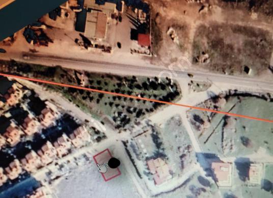 Dikili Gazipaşa Mahallesi Satılık 30/60 villa imarlı arsa - Harita